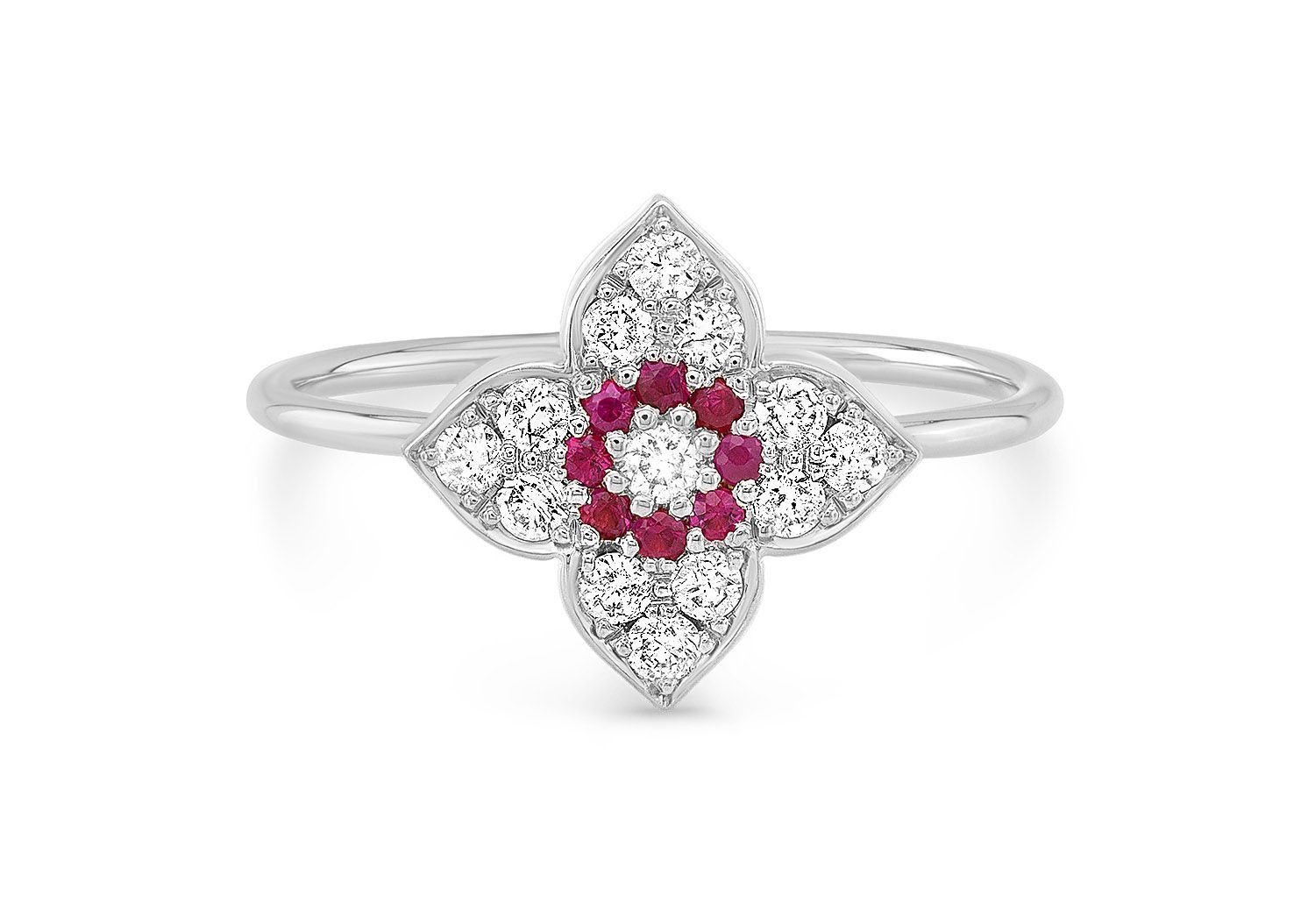 MAKE LOVE LOTUS DIAMOND RING - AMRIT Jewelry