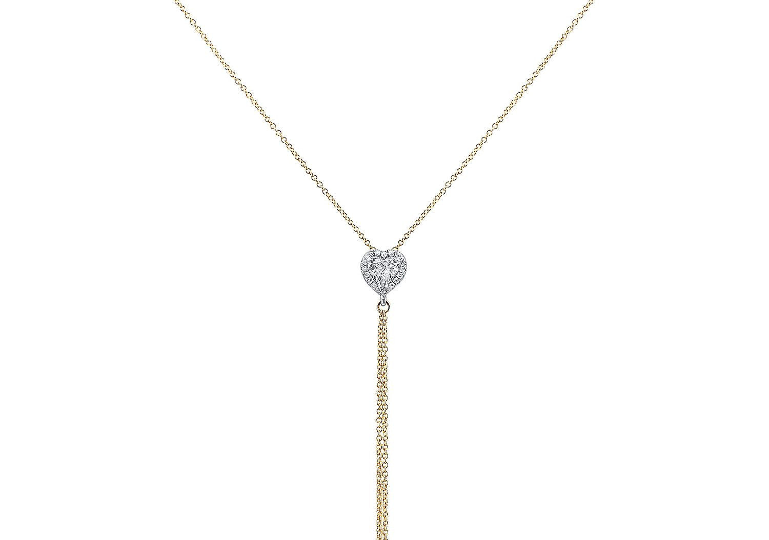 HEART DIAMOND BODY CHAIN - AMRIT Jewelry
