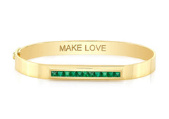 MAKE LOVE BAR BANGLE