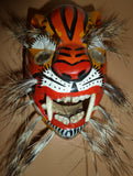 small jaguar mask w/boar bristles