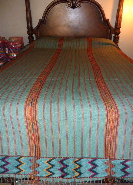 Turquoise Bedspread #12 (in queen only)