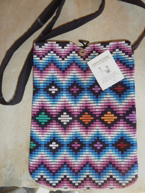 Woven Purse/iPad carrier w/ strap 2