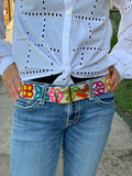 Peruvian Embroidered Belts