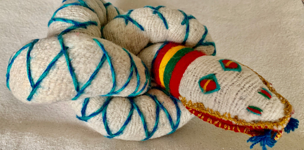 Wool snake from Chiapas, Mexico
