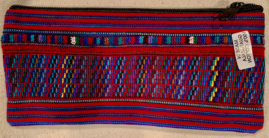 Pouch made from traditional Mayan textiles #7