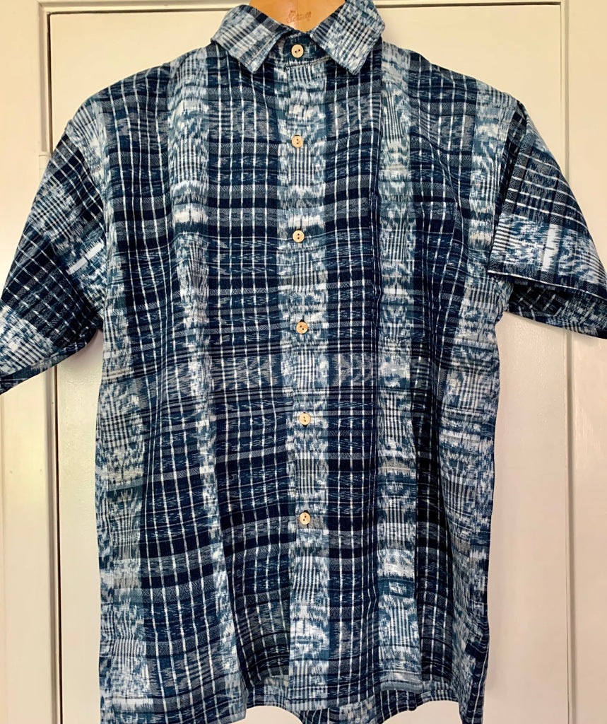Large Men's short-sleeve shirt 5