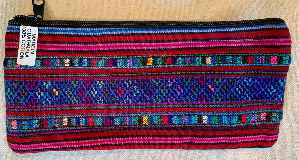 Pouch made from traditional Mayan textiles #15