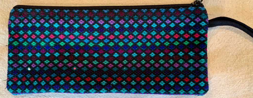 Pouch made from traditional Mayan textiles #20