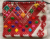 Pouch made from traditional Mayan textiles #4
