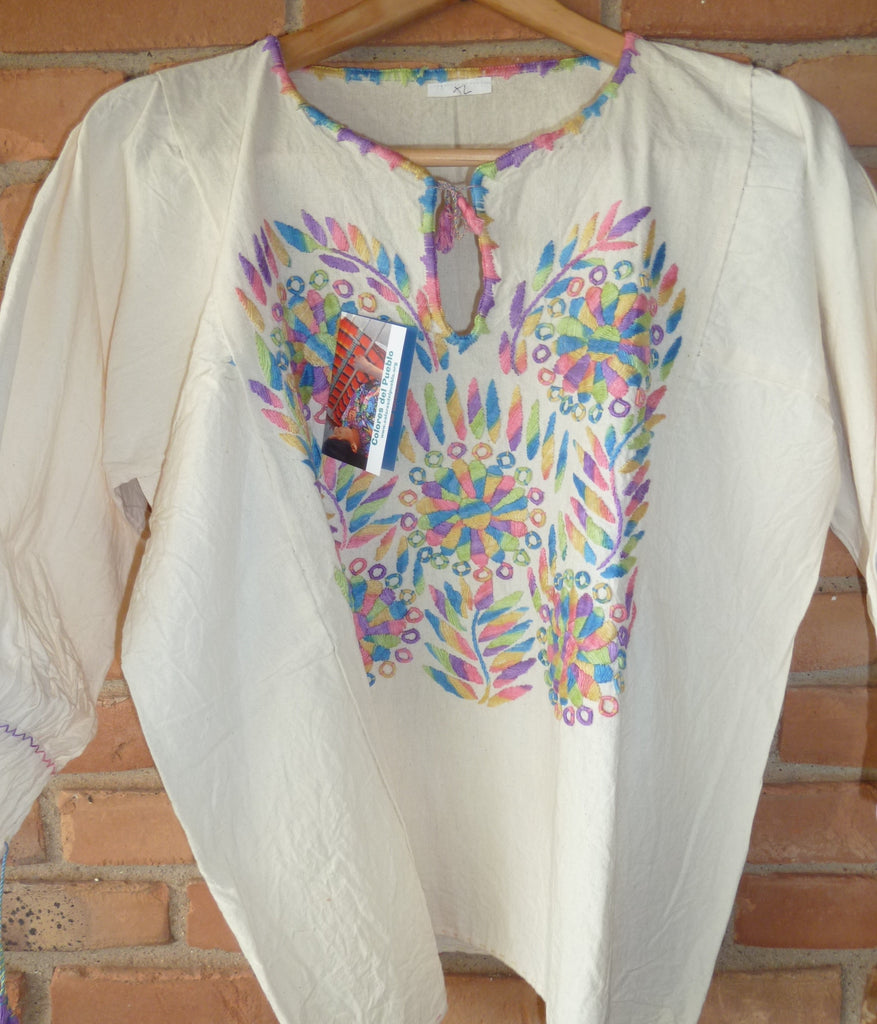 Mexican Embroidered Blouse 3