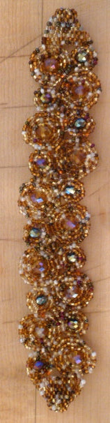 Beaded bracelet with magnetic clasp #3