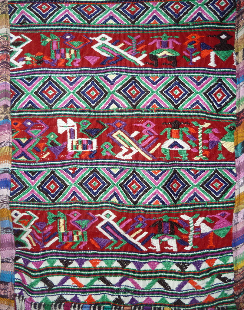 Hand-Woven Table Runner from Nebaj, Guatemala