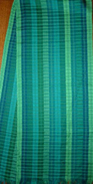Hand-woven Scarf #026