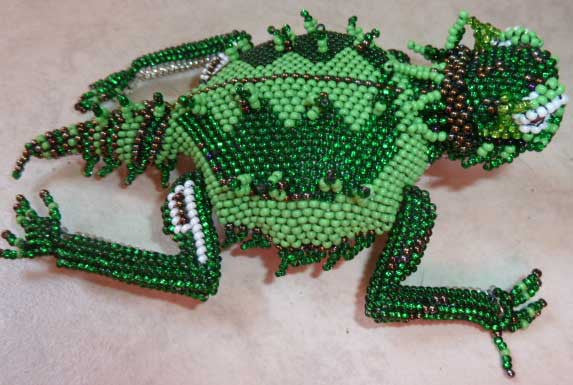 Beaded Horny Toad