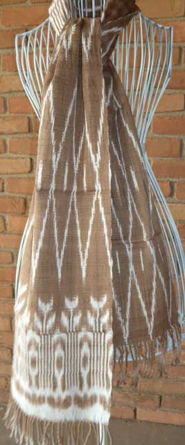 Natural Dyed Scarf #5