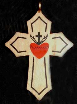 Sacred Heart Cross #2
