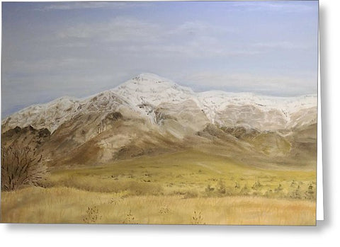 Ben Lomond Peak - Greeting Card