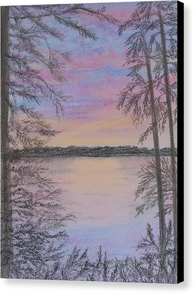 Colorful Sunset - Canvas Print