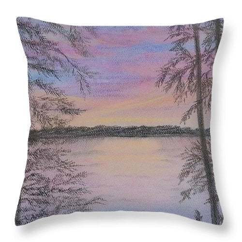 Colorful Sunset - Throw Pillow
