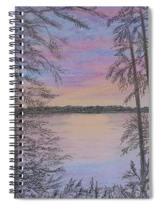 Colorful Sunset - Spiral Notebook