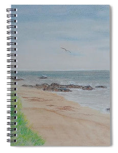 Crystal Cove - Spiral Notebook
