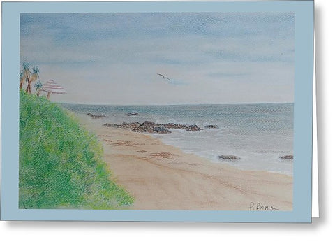 Crystal Cove - Greeting Card