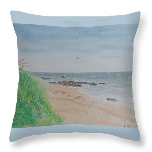 Crystal Cove - Throw Pillow