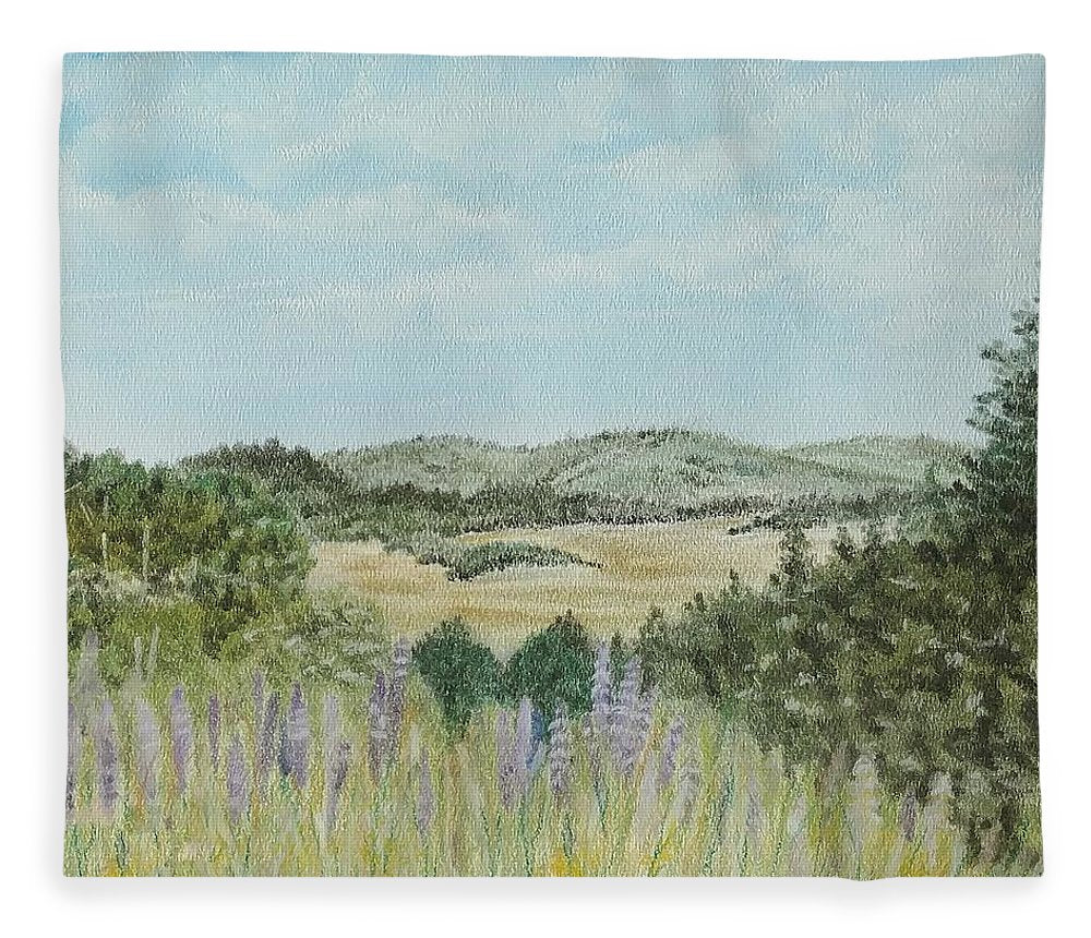 Hilly Retreat - Blanket