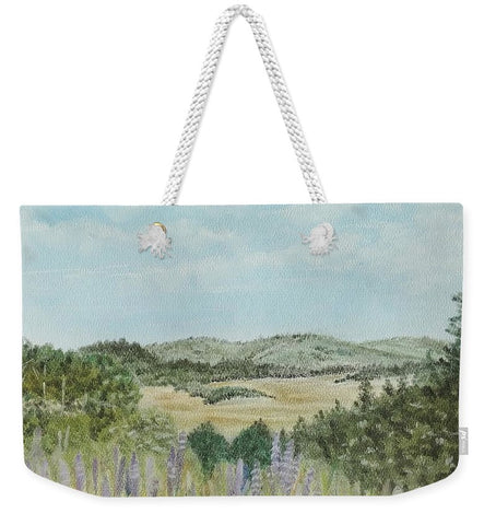 Hilly Retreat - Weekender Tote Bag