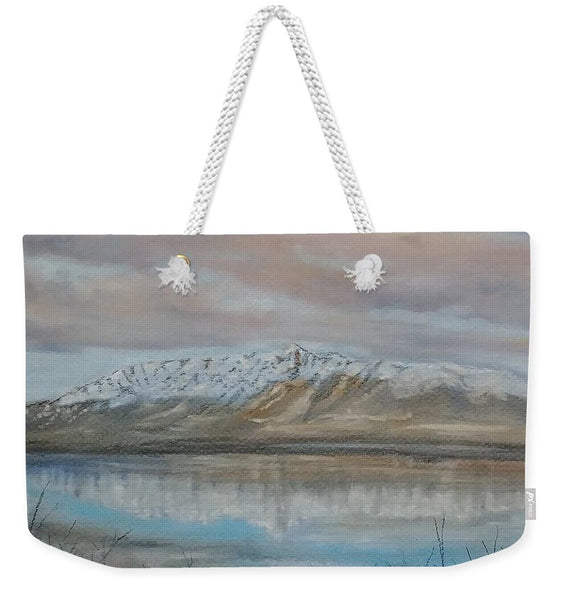 Mountain Reflection - Weekender Tote Bag