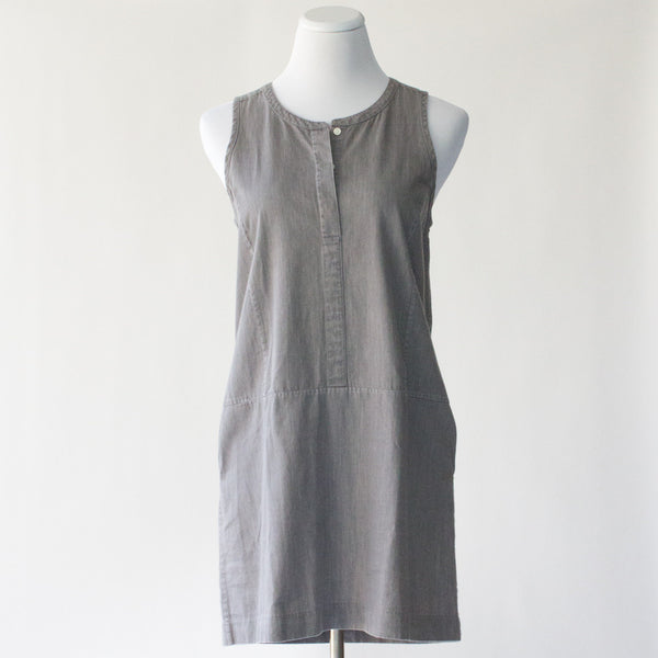 Everlane Denim Sleeveless Dress - Small