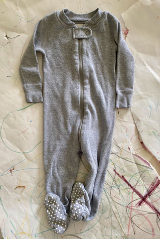 Hanna Andersson Organic Footed Pajamas - 6-12 Months