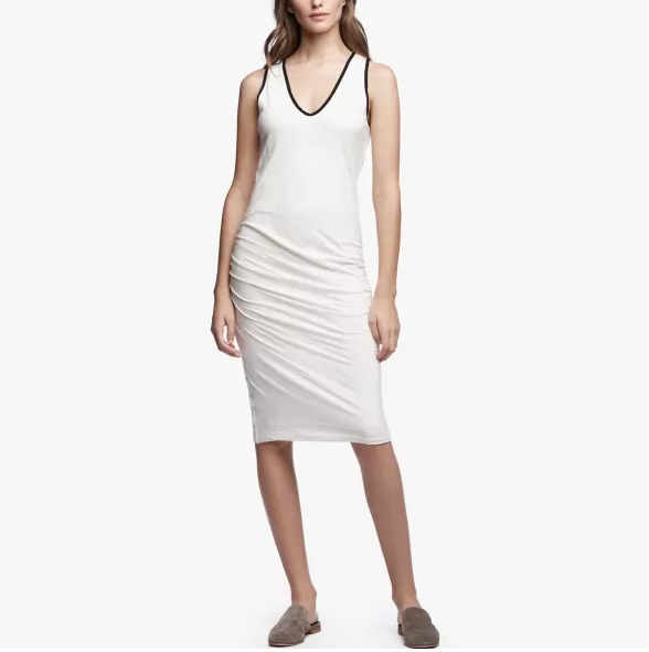 James Perse Cotton Linen Dress - 3