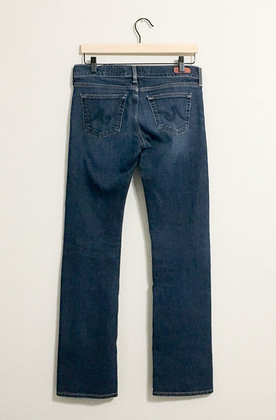 AG Tomboy Relaxed Straight Jeans - 28R