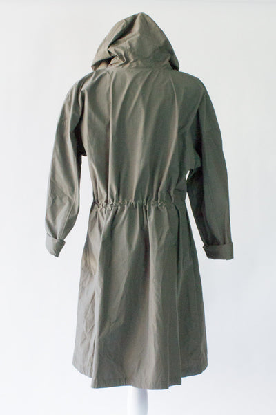 Eileen Fisher Organic Cotton/Nylon raincoat - XL