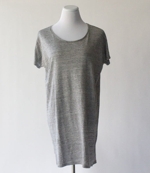 Everlane Linen Dolman Sleeve Tee Dress - Small