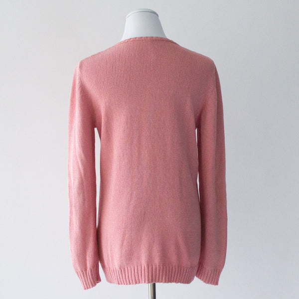 Souchi Cotton Blend Sweater - Medium
