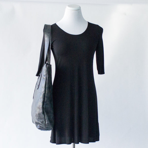 admonish Large Charcoal Tote