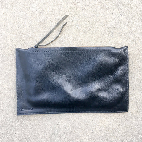 admonish Leather Clutch