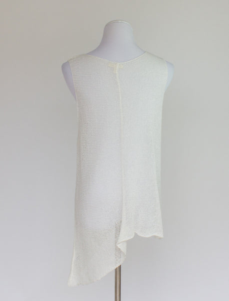 Eileen Fisher Linen Blend Sweater - Large