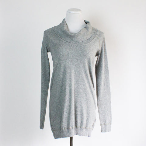 Three Dots Cowl Neck Sweatshirt - Small
