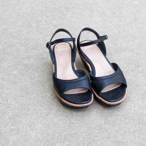 Camper Wedge Sandals - 35