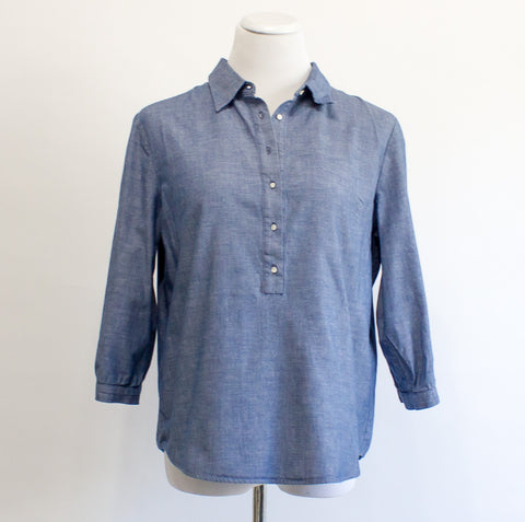 Emerson Made Chambray Shirt - Medium