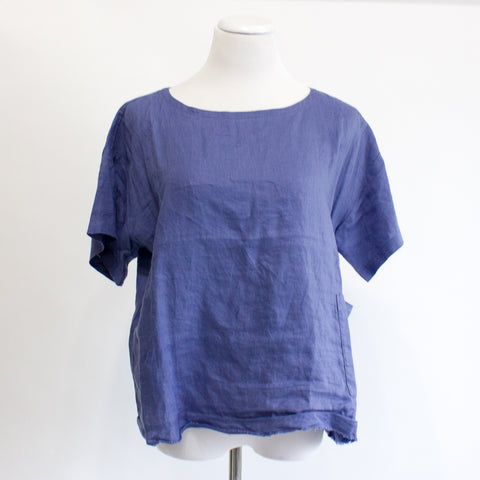 Eileen Fisher Linen Top - Small