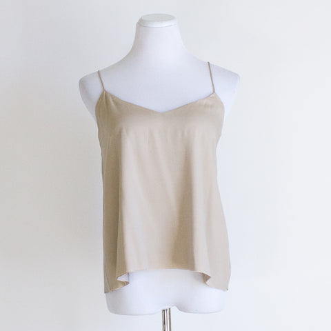 Emerson Fry Cut Layers Silk Tank - Large