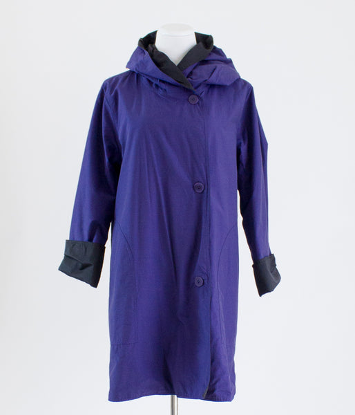 Eileen Fisher Reversible Raincoat - Large