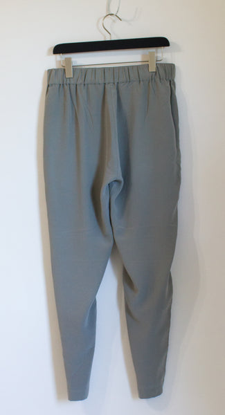 Grana Silk Ankle Pants - Large Tall