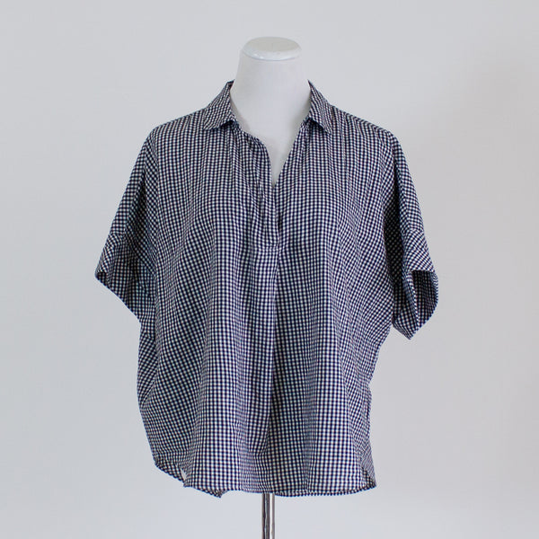 Madewell Checked Button Back Shirt - XL