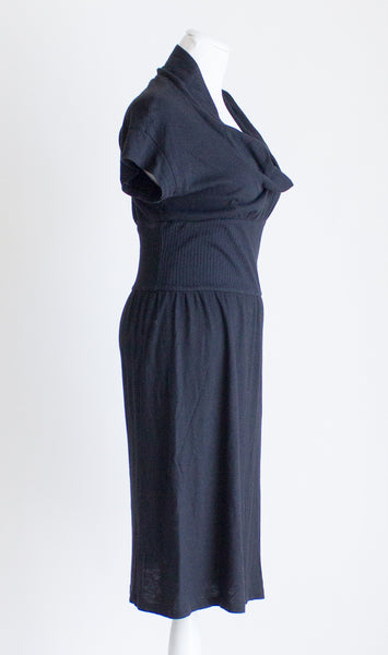 James Perse Cowl Neck Dress - 2