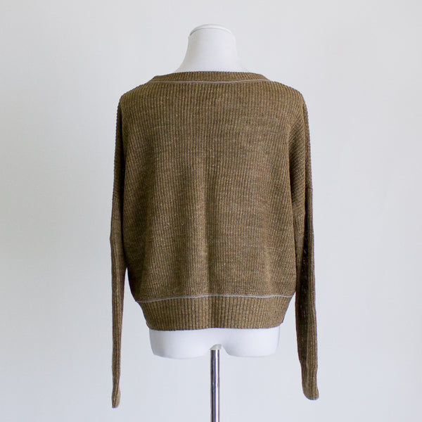 Steven Alan Linen Sweater - Small